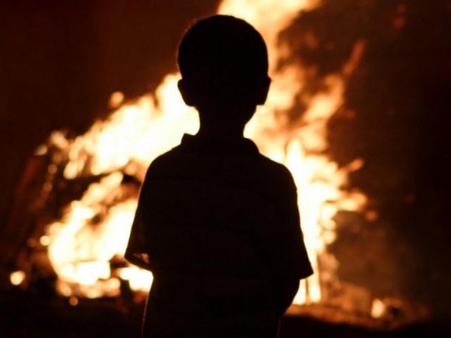 ВВязьме девятилетний парень  спас изогня братьев и сестренку