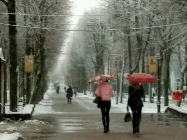 Натерритории столицы объявлено штормовое предупреждение