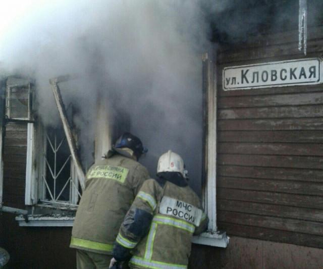 ВСмоленске впожаре вжилом доме умер ребенок имужчина