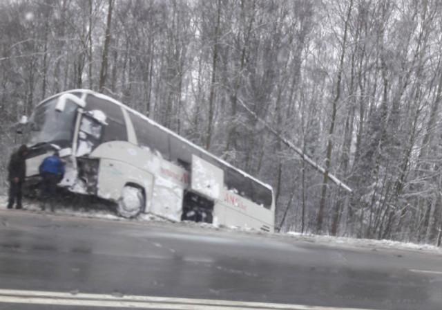 ВДТП савтобусом вСмоленском районе пострадали люди