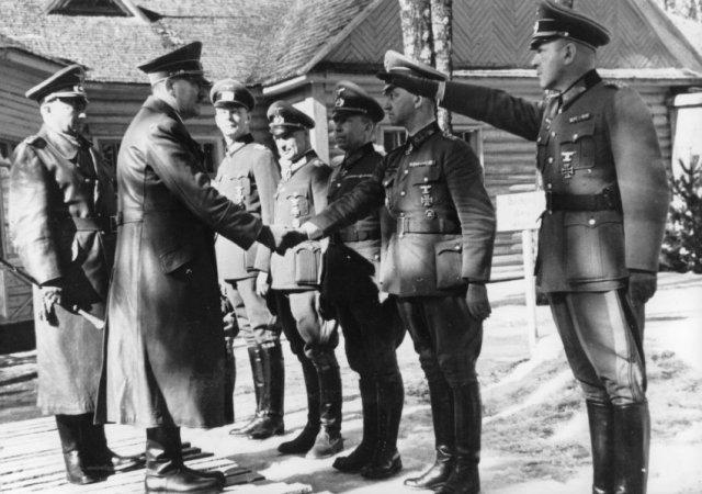 Гитлер в Смоленске. Март 1943 г.