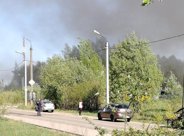 Стали известны детали пожара вцеху площадью 3500 квметров вСмоленске