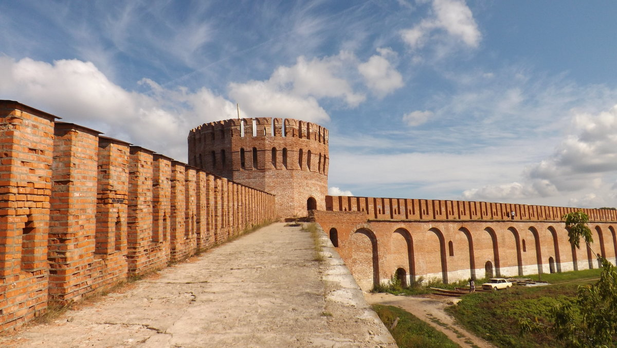 Крепостные стены фото