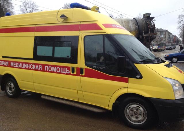 В Смоленске на Кутузова в ДТП пострадал мотоциклист