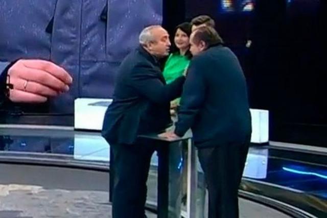 Скриншот с видео телепередачи.