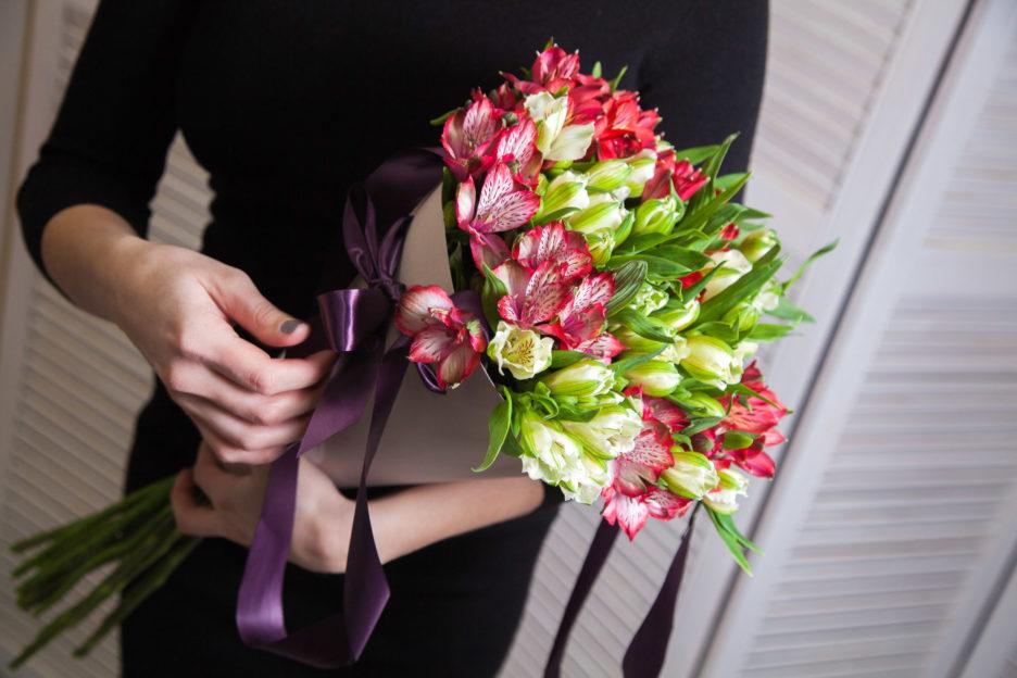 саду дорогой букет цветов в руках фото исламу