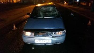 В Сафонове ВАЗ сбил парня