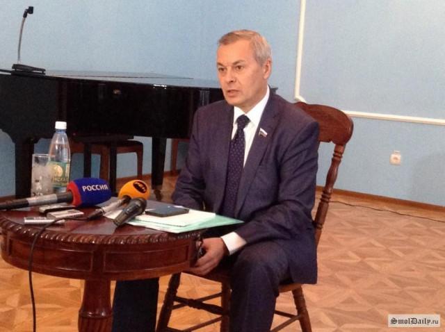 Александр Тарнавский в Смоленске.