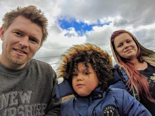 Дима с Ритой и племянником