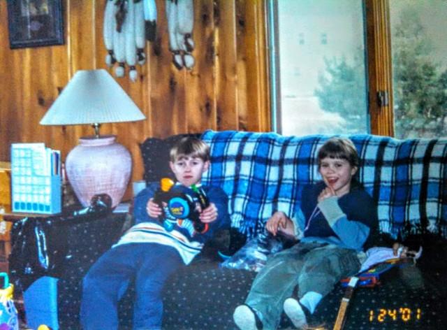 Рита и Дима в американской семье