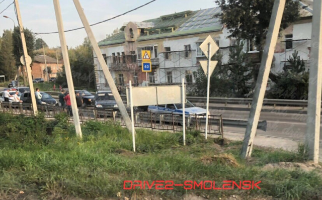 Очевидцы: В Смоленске сбили бабушку и скрылись с места ДТП