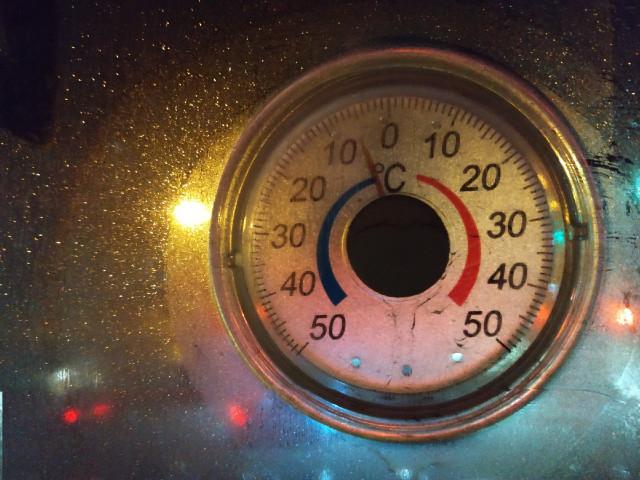 Какой будет температура в декабре