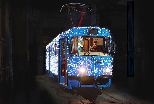 В Смоленске в новогоднюю ночь будут ходить трамваи
