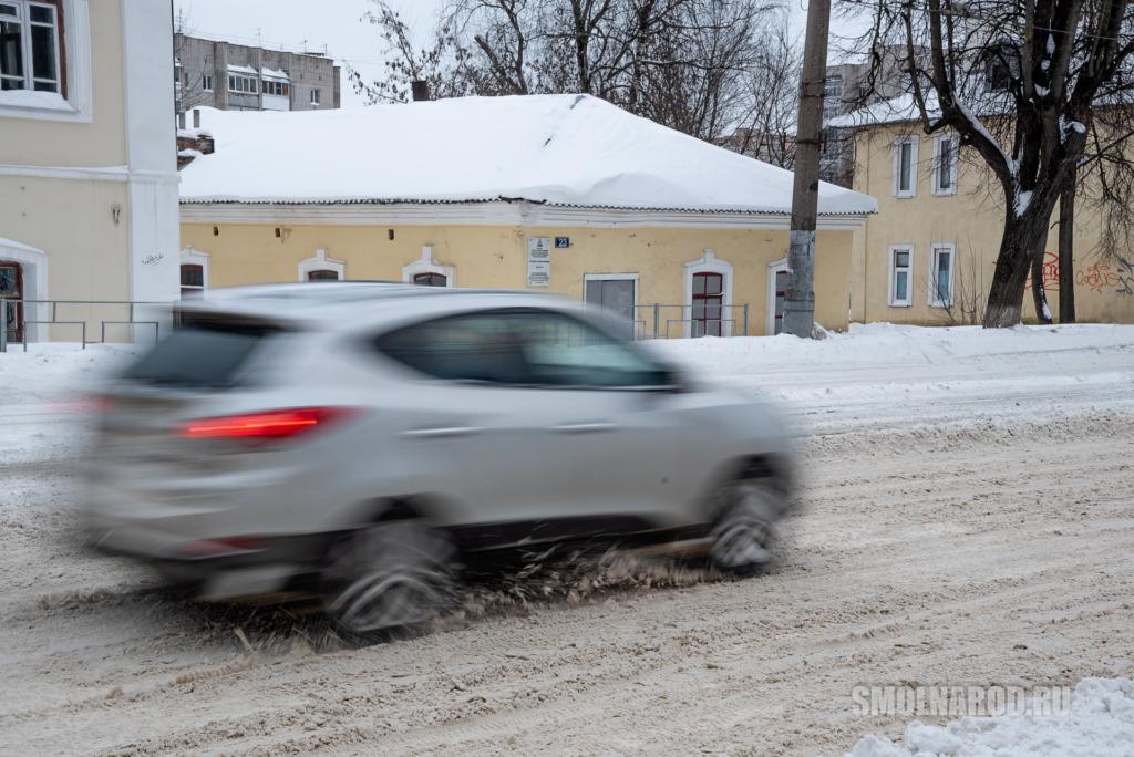 смоленск, снег, город, снегопад, улицы, общественный транспорт, машины