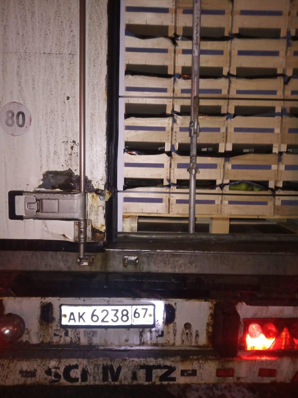 Смоленские таможенники задержали груши, ввозимые под видом немецкого пива