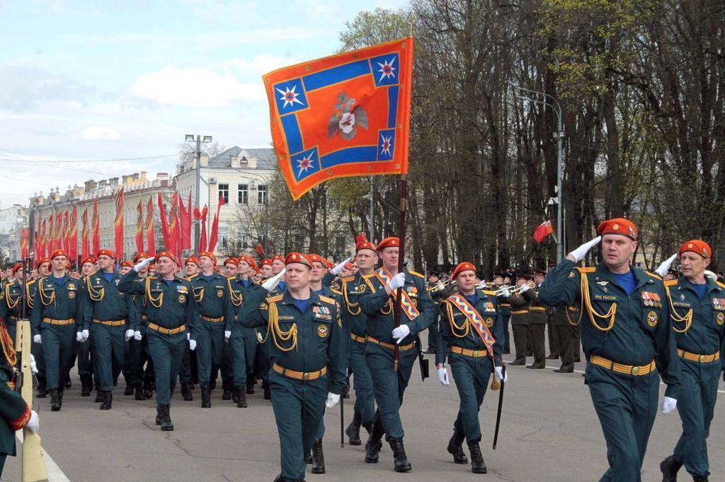 В Смоленске прошла репетиция парада Победы