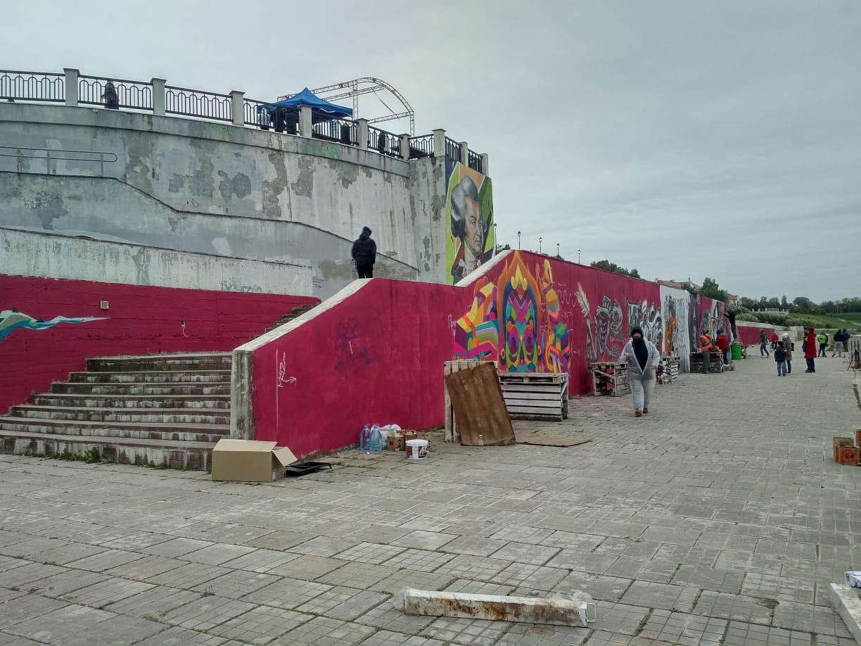 В Смоленске проходит международный фестиваль граффити
